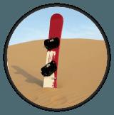 sand board icon