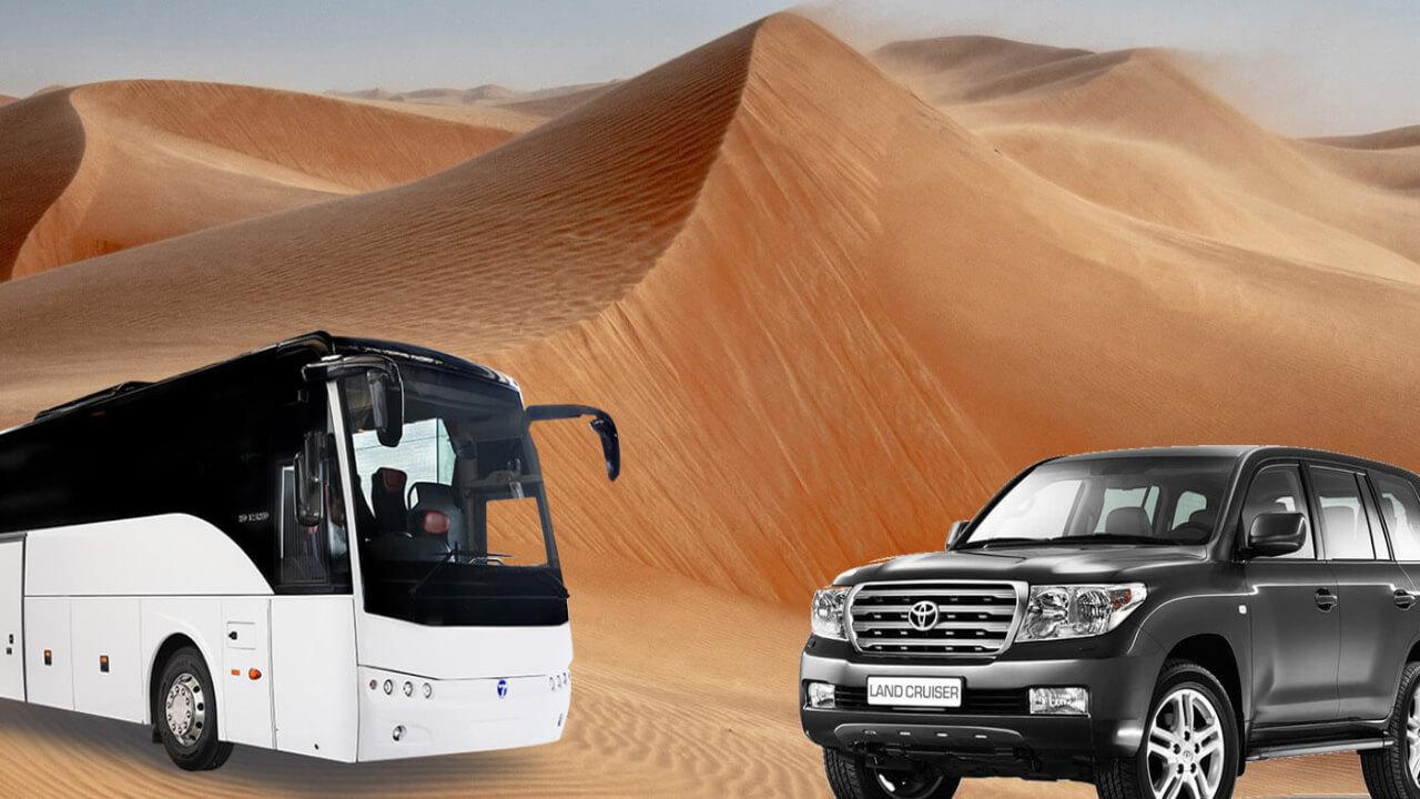 Desert Safari By Bus Pickup