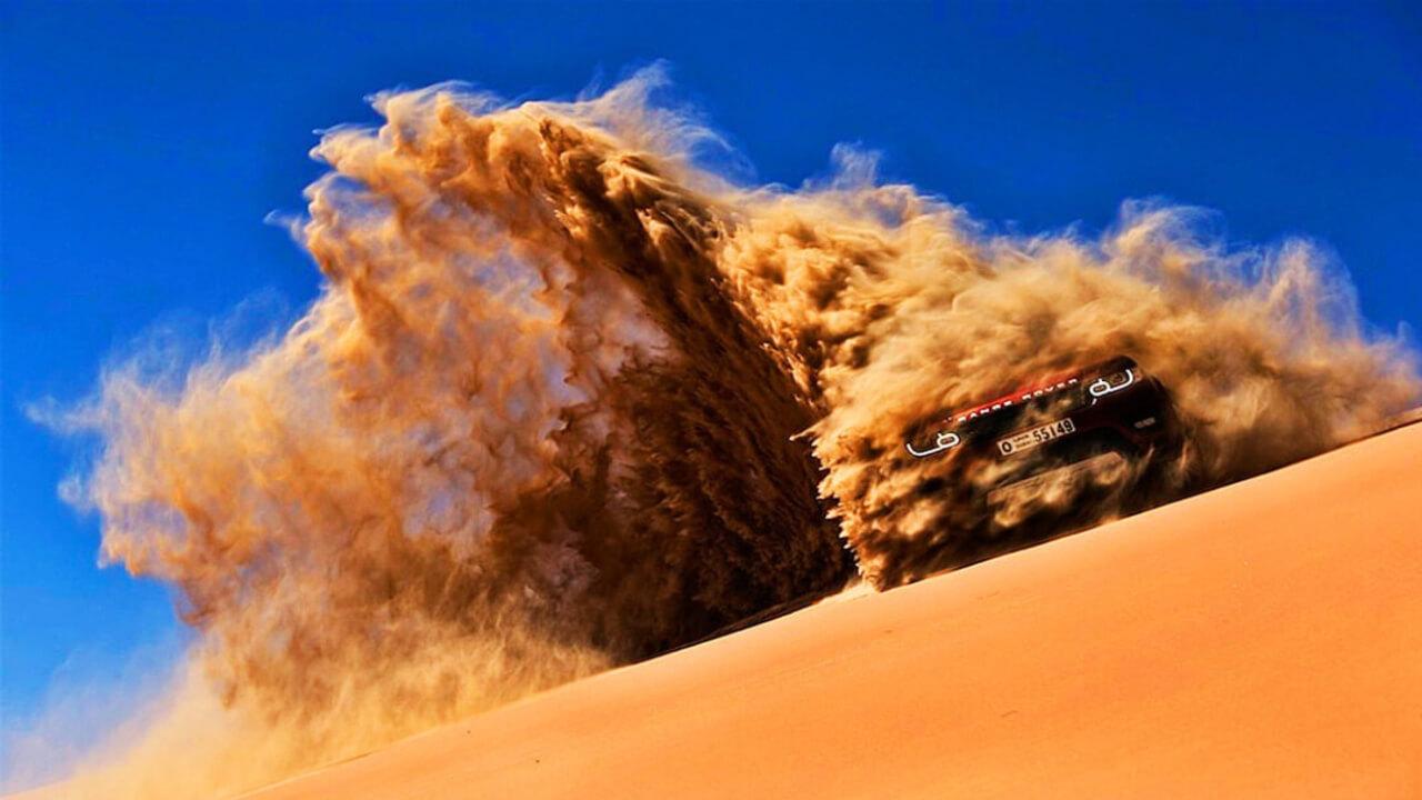 Jeep Desert Safari Dune Bashing