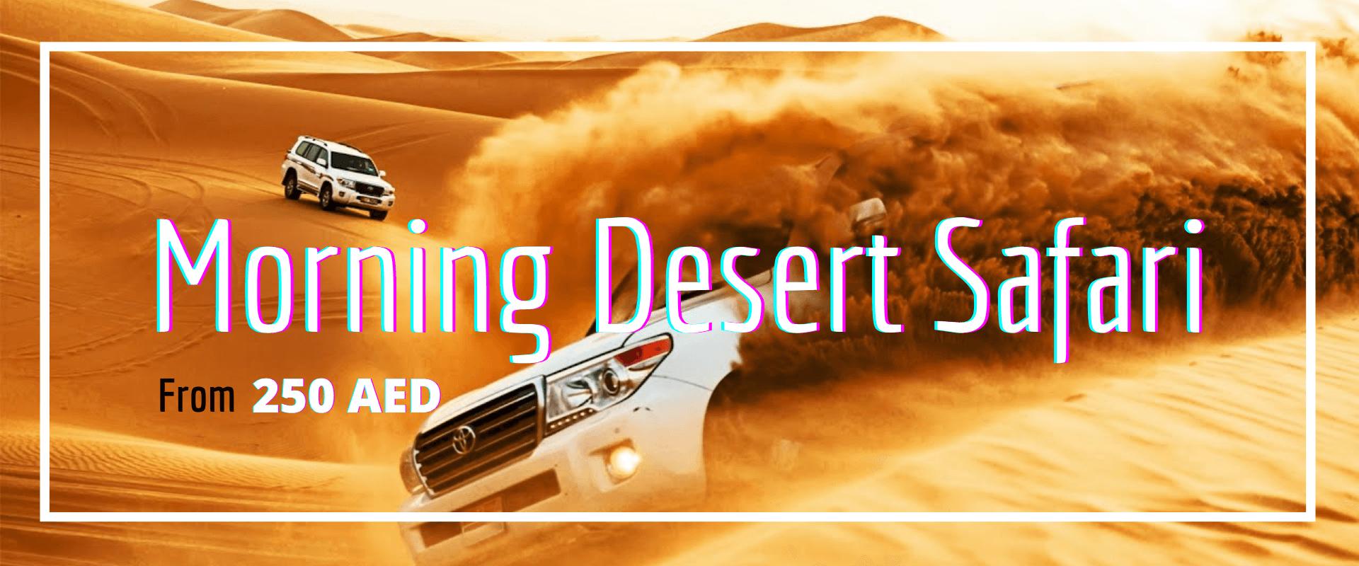 Morning Desert Safari Packages