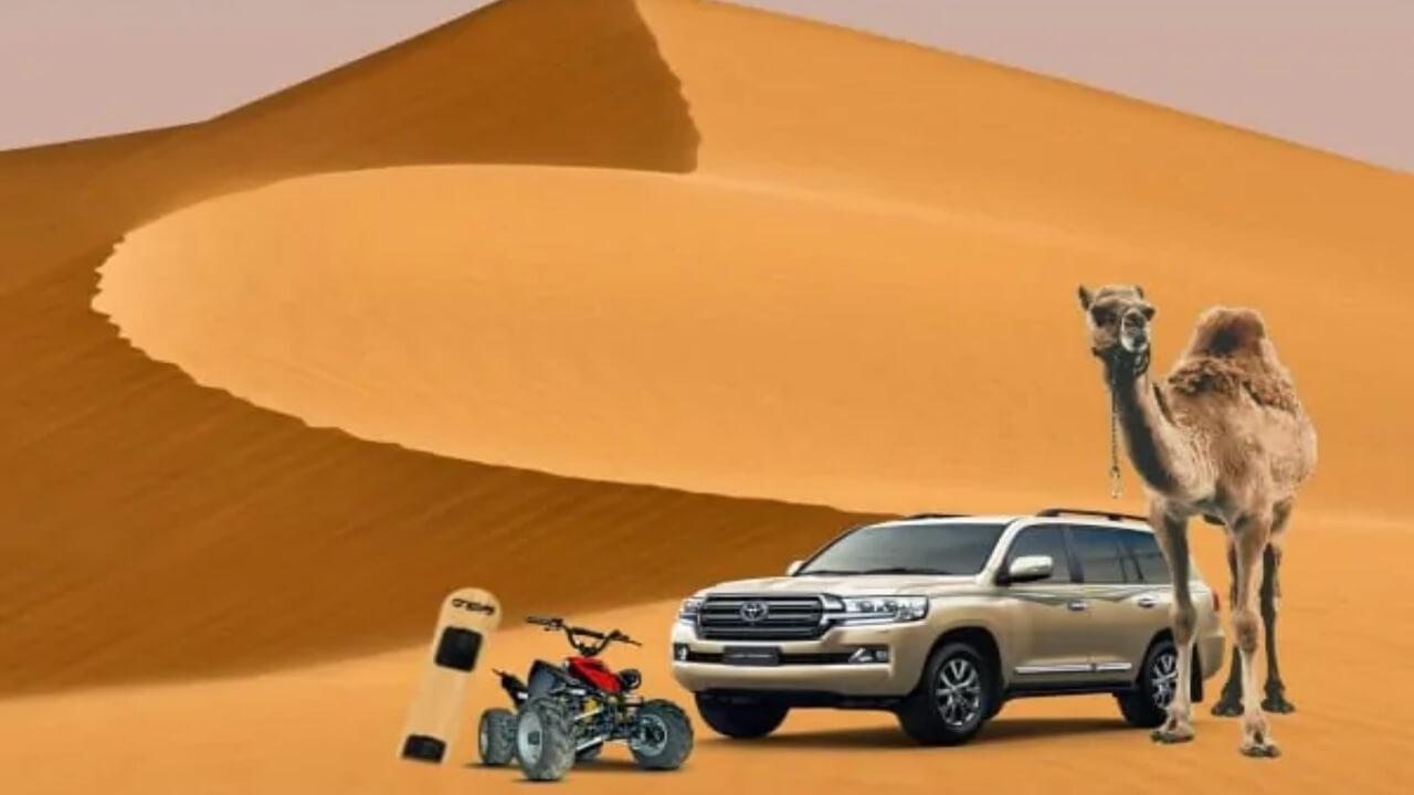 Arabian Desert Safari | 30 AED Desert Safari Dubai | Free Inclusion