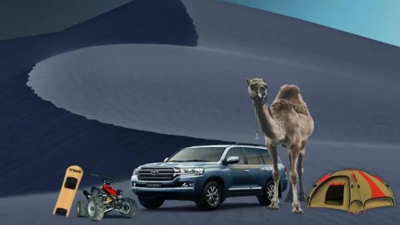 Overnight Desert Safari deals: Camping QuadBike CamelRide